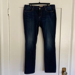 Paige Peg Staight Jeans